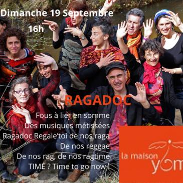CONCERT Ragadoc+ RECIF: dimanche 19 septembre 2021 à Fiac (81)